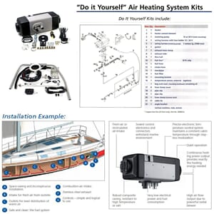 Air Top 2000 STC Marine 12V Diesel - Webasto